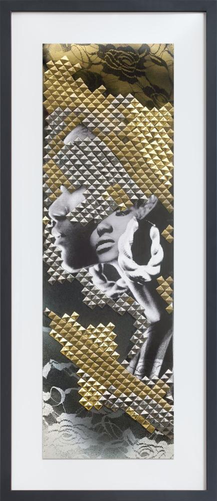 Studded 46″ X 20″ / Black Museum Frame Limited edition TWYLA print